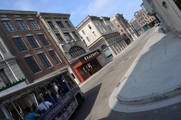 Décors urbains Universal Studios Hollywood