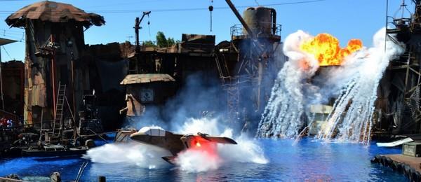 Waterworld Universal Studios Hollywood