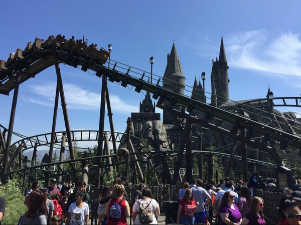 The Flight of the Hippogriff Universal Studios Hollywood