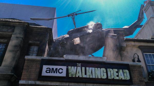 The Walking Dead Universal Studios Hollywood
