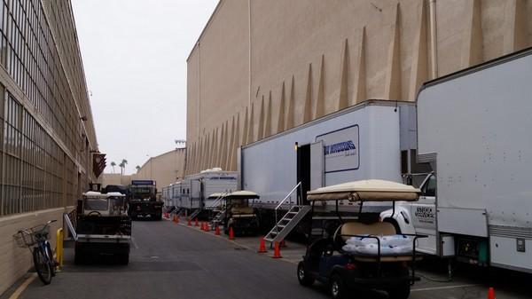 Tournage en cours Warner Bros Hollywood