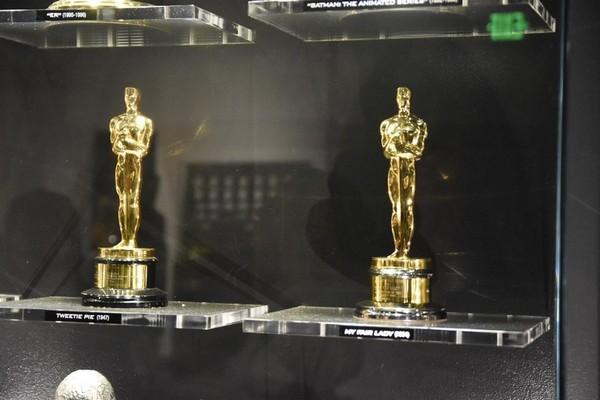 Vitrine Oscars Warner Bros Studios Hollywood