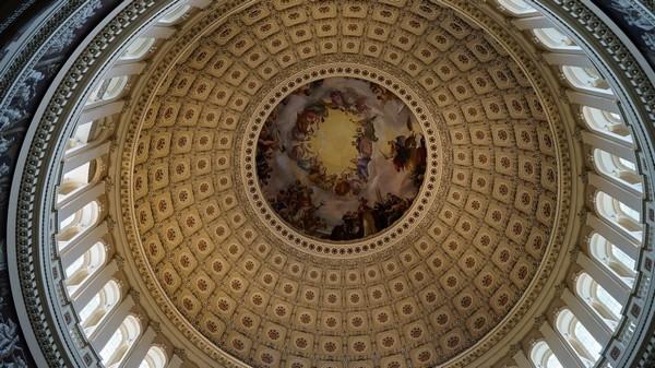 La coupole du Capitole Washington DC