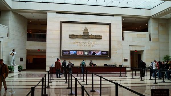 Le Visitor Center du Capitol Washington DC