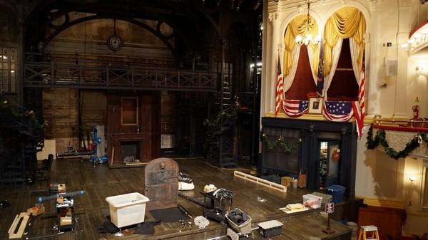 La loge où Lincoln a été assassiné Ford's Theatre Washington