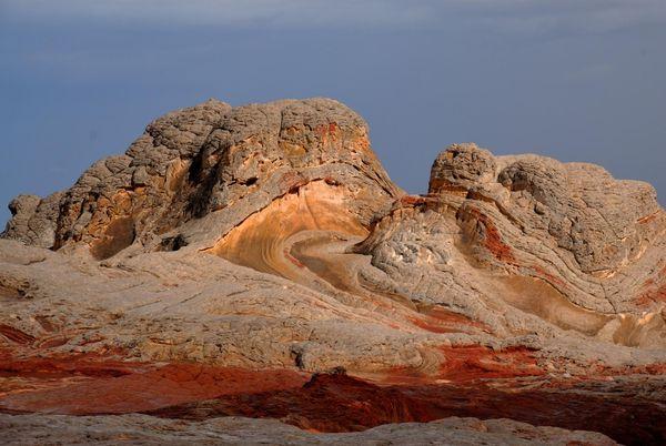 brain rock doré White Pocket Arizona
