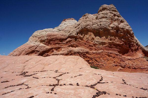Moqui Marbles White Pocket Arizona
