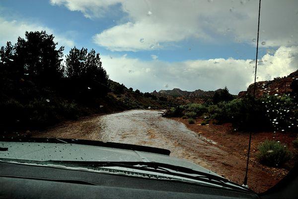 Flash Flood White Pocket Arizona
